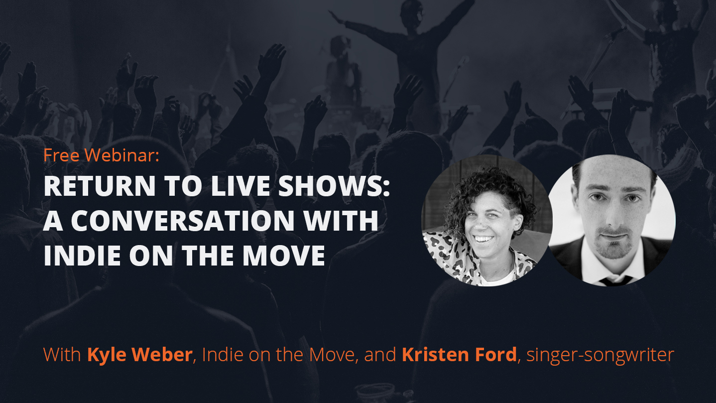 Return to live shows: A conversation with Indie on the Move