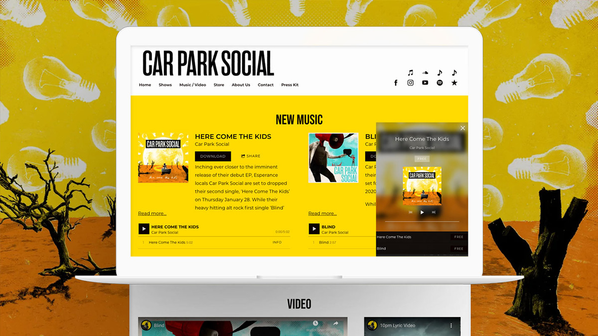 Bandzoogle Blog - 11 ways to use the Music player on your website - Main