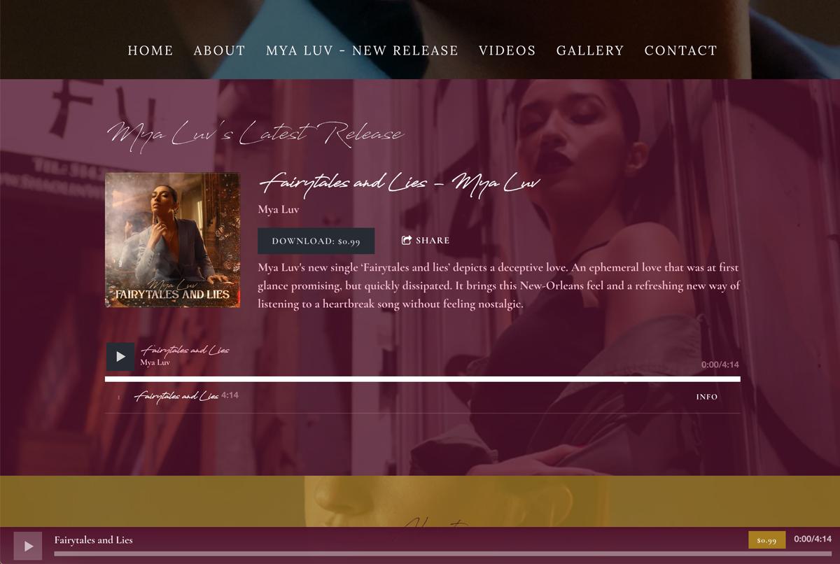 10 principles of great music website design