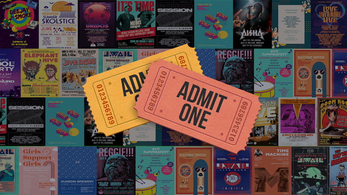 5 ways to sell tickets through your music website - Bandzoogle Blog - Main
