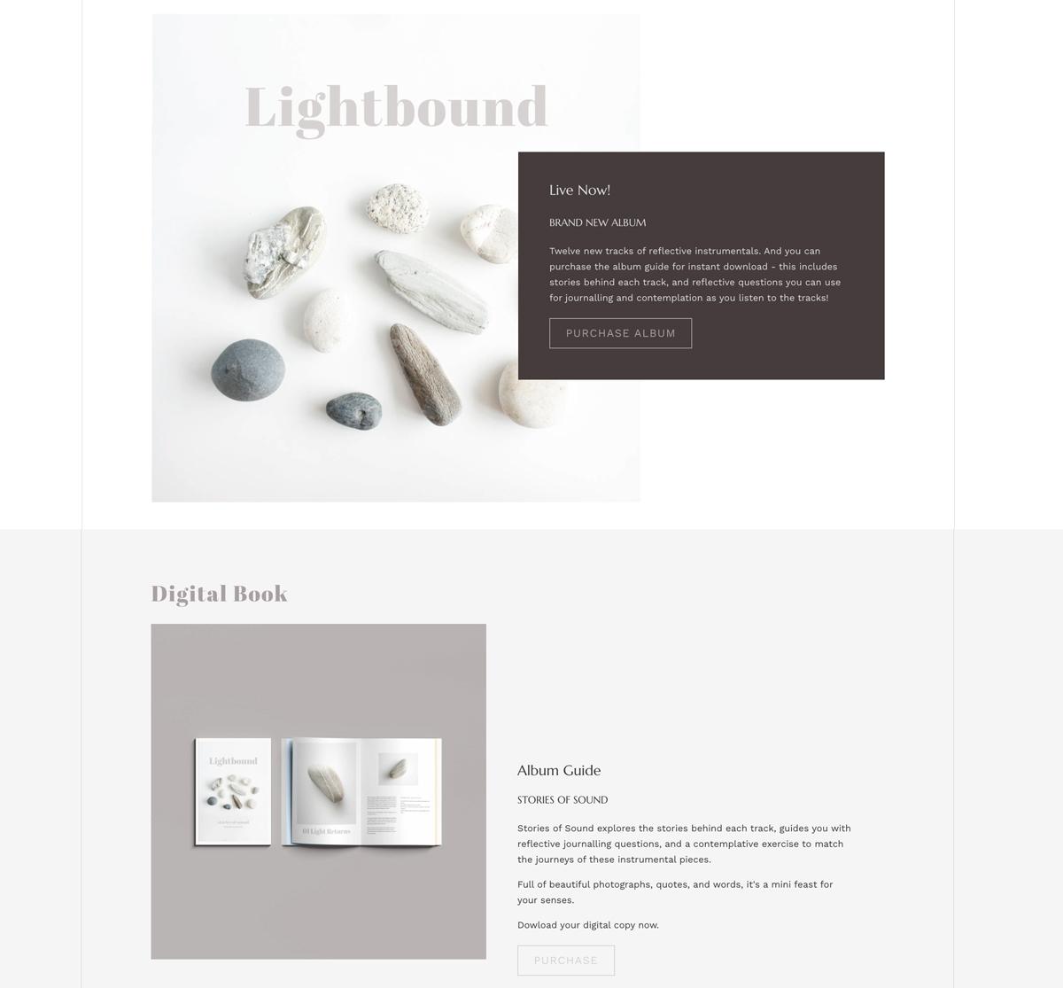 7 ways to create band website layouts you'll love - Bandzoogle Blog - Homepage