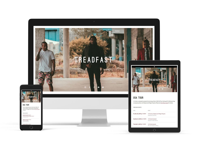 New website template elegant example