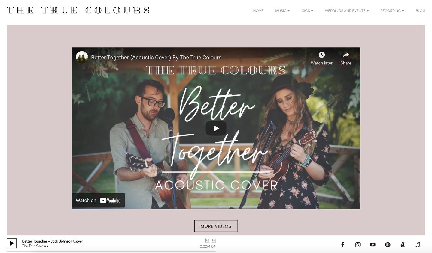 Bandzoogle Blog - How to build the perfect homepage for your band website - Video