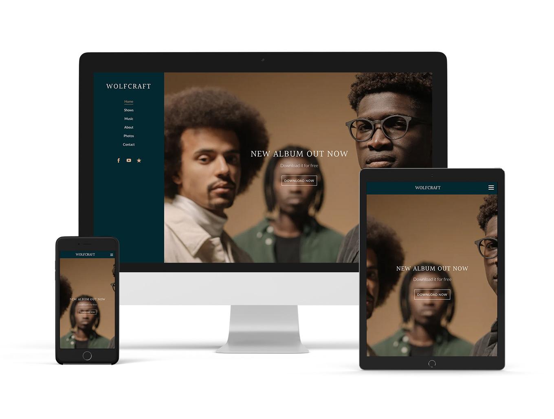 New website template: Alto